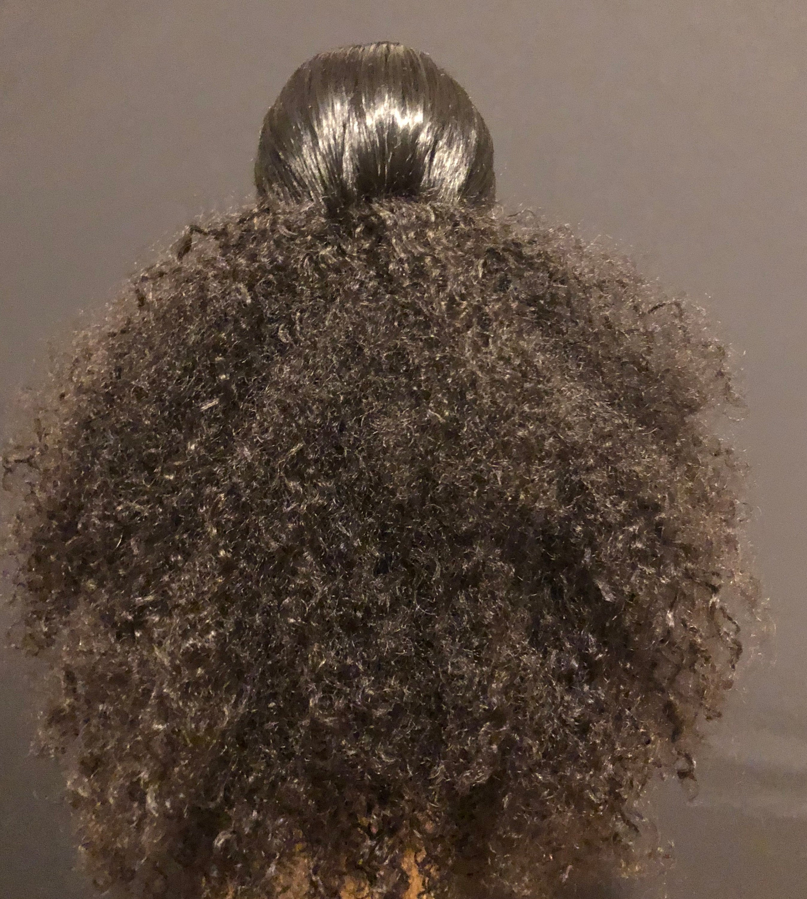 Kinky Curly Ponytail Wig Unit