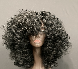 Essence Wigs Black 'Curly Bantu' Natural Hair Wig
