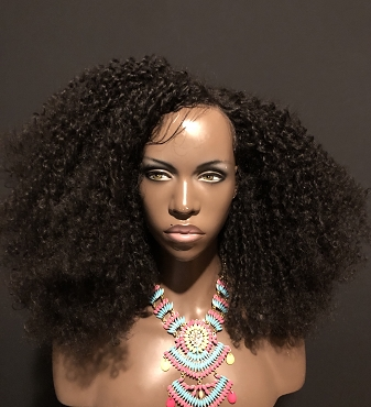 Essence Wigs 'King of Volume' Huge Natural Hair Kinky Curly Lace Front Wig