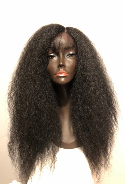 Gorgeous 'LIONESS 2' Wig Lace Front Wig Baby Hair Textured Kinky Straight