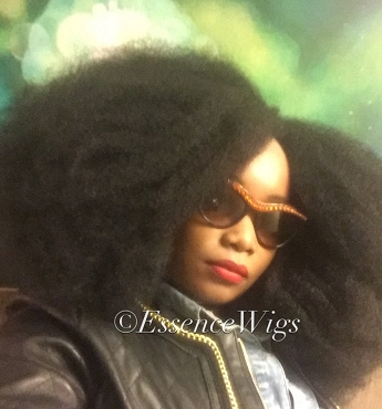 Essence Wigs Gorgeous Afro 4C BIG Afro Wig Kink Bohemian Vibe Fro Lace front Wig Unit Full Cap
