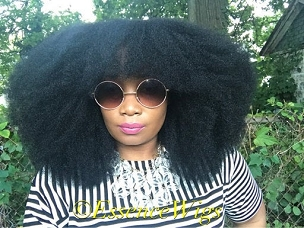 Essence Wigs Gorgeous Afro Kink Bohemian Vibe Bangs Fro Afro Non Lace Wig Natural Hair 4C