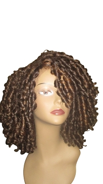 Essence Wigs The 'Shirley Temple' Straw Curl Lace Front Wig Wig