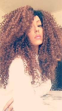 Essence Wigs The 'JANET JACKSON' Honey Blonde Natural Hair Lace Wig Kinky Straw Curl Lace front Wig