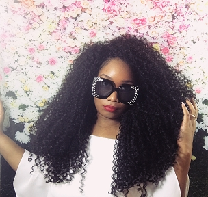 Essence Wigs The 'JANET-Remixed' BIG HAIR Black Lace front wig Natural Hair