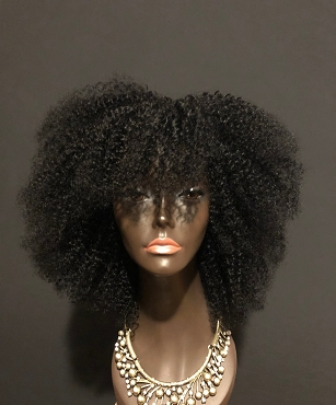 Essence Wigs 'Delicious Kinkz' 100% Brazilian Human Hair Kinky Curly Wig