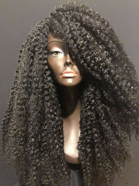 Long Kinky Twist Out