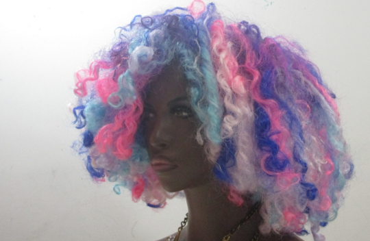 Unicorn Curls Wig Unit Kinky Curly Natural Hair Texture by Essence Wigs