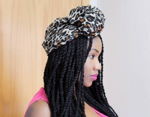 Essence Wigs 'Havana Marley' Twists Crochet Lace front Wig Unit Black Brown Lace Wig